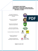 Consenso Colombiano de Sedacion