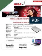 Especificaciones Toshiba Satellite c45-Asp4311fl