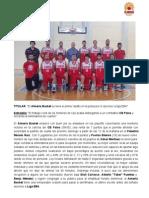 El Almería Basket se lleva el primer asalto en la pelea por el ascenso a liga EBA - CB Palos 58-65 Almería Basket