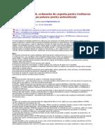 OUG Nr 50 2008 - Taxa de Poluare