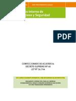 Actualizado Reglamento Internode Orden Higiene y Seguridad ACHS