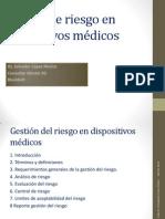 Gestión de Riesgo en Dispositivos Médicos