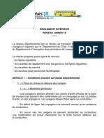 Reglement Lignes 18 Ad Octobre 2012