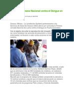21/04/14 Cuidadania Express Concluye Semana Nacional Contra El Dengue en La Costa