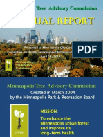 Minneapolis Tree Commission Annual Report