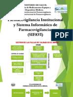 Sistema Informatico de Farmacovigilancia SIFAVI