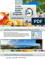WCCHC Behavioral Health Training Programs