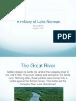 lake norman presentation