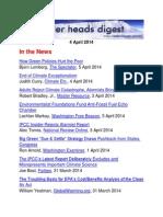 Cooler Heads Digest 4 April 2014