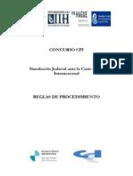 Reglas de Procedimiento Del Concurso CPI