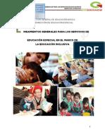 Lineamientos Generales para los Servicios de Educacion Especial en el Marco de la Educación Inclusiva. Edo de México. 2013.pdf