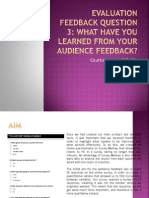 Evaluation Feedback Question 3 FINAL