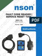 Bmw Fault Codes