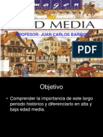 La Edad Media Clases 8 2014