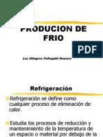 Produccion de Frio