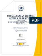 Manual Para La Efectiva Gestion de Personal