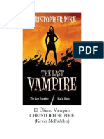 Christopher Pike- El Último Vampiro.