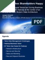 Hadoop Summit - 21 Telco Use Cases - Urbanski