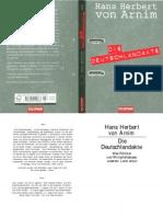 Die Deutschlandakte- HHvon Arnim 2009