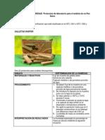ACTIVIDAD de APRENDIZAJE Protocolos de Laboratorio Para El Análisis de Un Pan Dulce