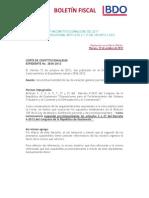 Corte de Constitucionalidad Expediente 2836-2012