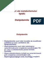 Tulburări Ale Metabolismului Lipidic