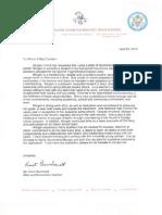 letter of recomendation morgan