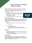 hpt concept qualitative analysis