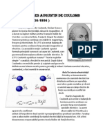 Charles Augustin de Coulomb fizica , clasa a x-a