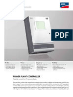 Power Plant Controler - Flexible Control for Pv Power Plants (Pwrplntcntrlr-dus122410w)