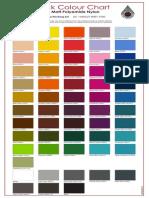 1mm Colour Chart