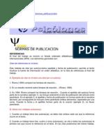 Normas APA - Ejemplos de Citas, Bibliografía
