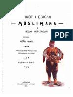 22143957 Život i Običaji Muslimana u Bosni i Hercegovini Antun Hangi