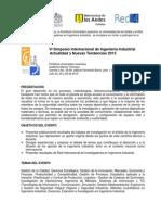 Simposio Ingenieria Industrial 2013-2