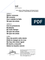 AT THE CROSS - Spanish Official Translation