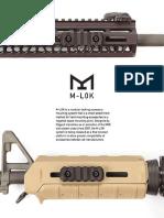 Magpul Industries M-lok Information Booklet