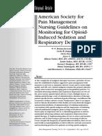 guidelinesonmonitoringforopioid-inducedsedationandrespiratorydepression