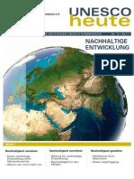 Magazin Der Deutschen UNESCO-Kommission2-2011-Nachhaltige Entwicklung