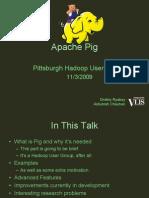 Apache Pig -- PittsburghHug
