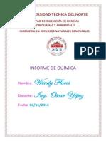 Informe de Quimica Alcanos
