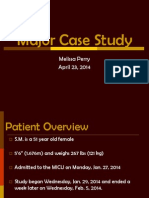 major case study ppt