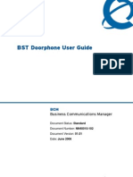 BST Doorphone User Guide