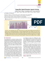 Orvinols With Mixed KappaMu Opioid Receptor Agonist Activity