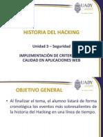 Presentación 3.2 - Historia Del Hacking