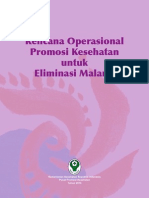 Rencana Promkes Malaria