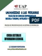Proceso de Implementacion de Un Sistema 2014