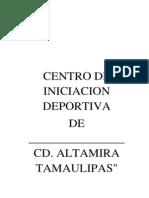 Centros de Inicacion Deportiva