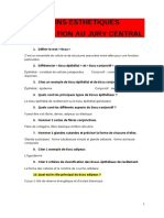 Jury Central Question Esthetique