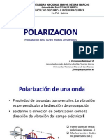 Polarizacion y Técnicas de Análisis