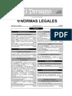 Ley 26979 - Sobre Encargos de Gestion - Ha Sido Modificado x El d. Leg. 1014 - Mayo 2008